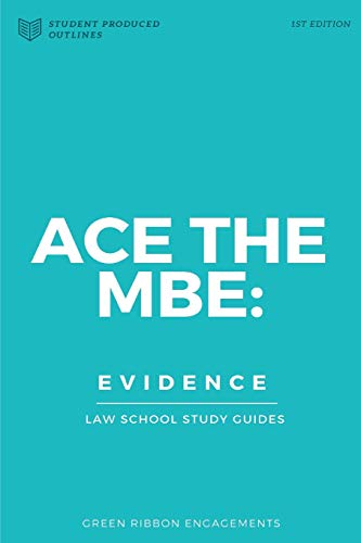9781519148193: Ace The MBE: Evidence (Volume 5)