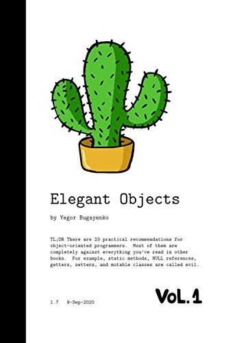 9781519166913: Elegant Objects (Volume 1)