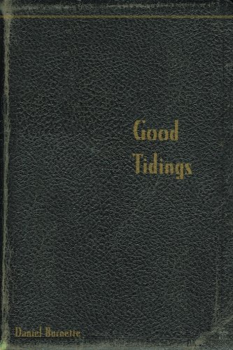 Good Tidings: Daniel Burnette