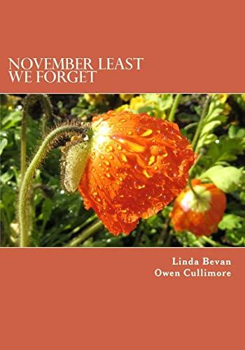 November Least We Forget: Bevan, Mrs Linda