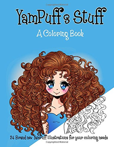 9781519172624: YamPuff's Stuff: A Coloring Book