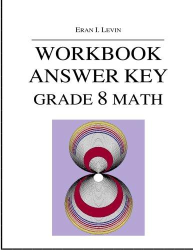 9781519178756: Workbook Answer Key - Grade 8 Math