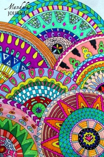 9781519196378: Mandalas Journal: Writing Journal & Mandala Drawing Templates (Notebook, Diary, Blank Book) 6x9