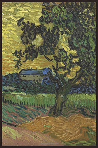 9781519206794: Landscape at twilight: Blank Journal; Vincent van Gogh notebook / composition book, 140 pages, 6 x 9 inch (15.24 x 22.86 cm) Laminated