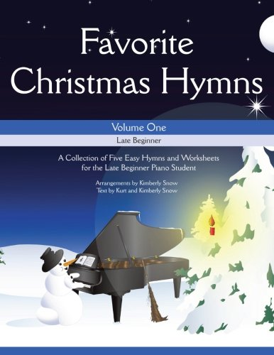 9781519264398: Favorite Christmas Hymns: A Collection of Five Easy Christmas Hymns for the Early and Late Beginner (Volume 1)