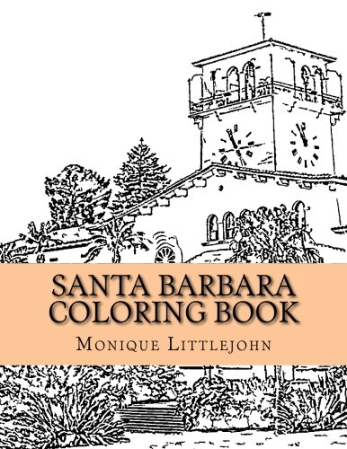 9781519269379 santa barbara coloring book