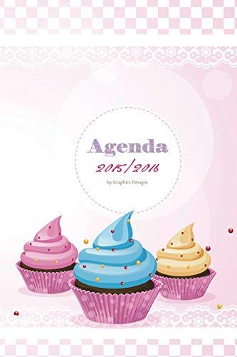 9781519275936: Agenda cupcake 2015/2016