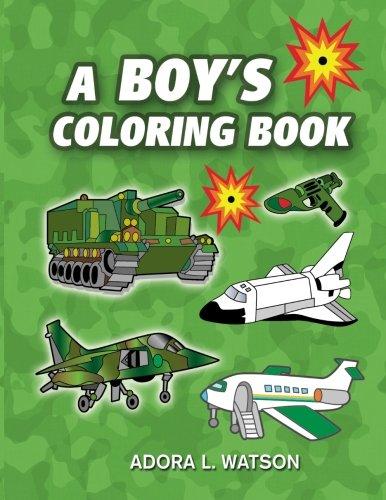 9781519282194: A Boy's Coloring Book