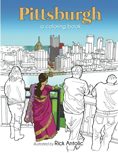 9781519318251: Pittsburgh: A Coloring Book