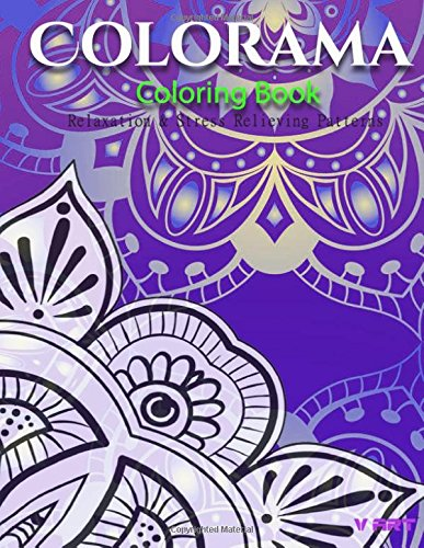 9781519322746: Colorama Coloring Book: Relaxation & Stress Relieving Patterns (Colorama Adult Coloring Book) (Volume 8)