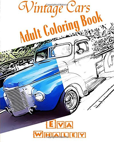 9781519325259: Vintage Cars Adult Coloring book: Car Coloring Book, Design Coloring (Volume 2)