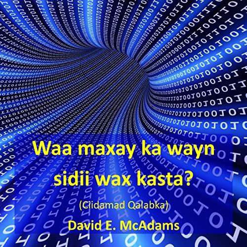 Waa Maxay Ka Wayn Sidii Wax Kasta?: McAdams, David E.