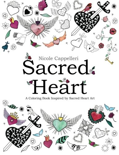 9781519344601: Sacred Heart: A Coloring Book Inspired by Sacred Heart Art