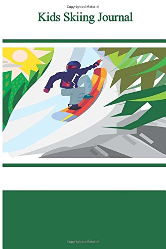 9781519351234: Kids Skiing Journal