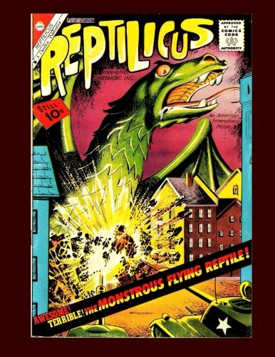 Reptilicus #1: The Monstrous Flying Reptile -: Comics, Charlton