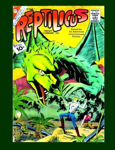Reptilicus #2: The Monstrous Flying Reptile! -: Comics, Charlton