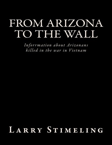 9781519360168: From Arizona to the Wall