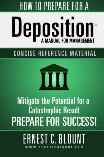 9781519376930: How To Prepare For A Depositiion