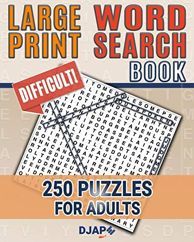 9781519410061: Large Print Word Search Book: 250 Puzzles for Adults (Volume 1)