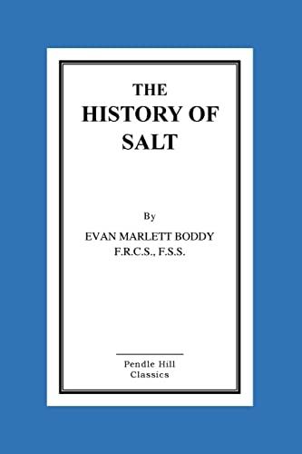 9781519460646: The History of Salt