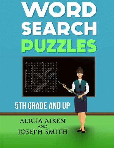 9781519491077: Word Search Puzzles: 5th Grade And Up