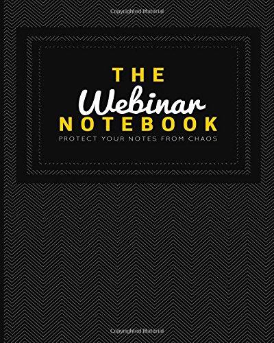 9781519526045: The Webinar Notebook