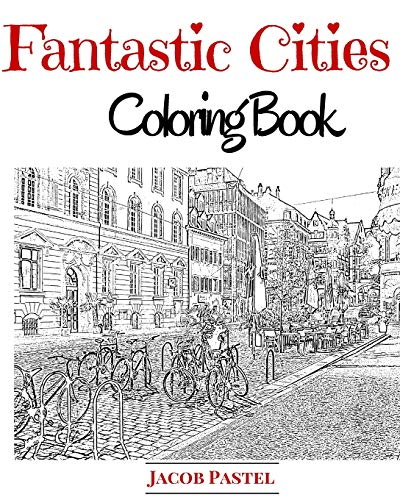 9781519529503: Fantastic Cities Coloring Book: City Coloring Books For Adults