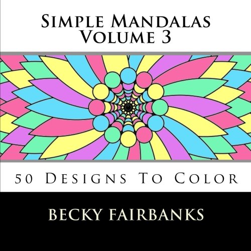 9781519533951: Simple Mandalas Volume 3