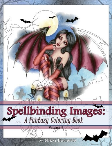 9781519542069: Spellbinding Images: A Fantasy Coloring Book (Volume 3)