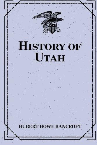 9781519542212: History of Utah
