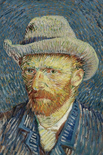 9781519567109: Self-portrait with grey felt hat, Vincent van Gogh: Blank Journal / notebook / composition book, 140 pages, 6 x 9 inch (15.24 x 22.86 cm) Laminated