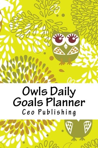 9781519592071: Owls Daily Goals Planner