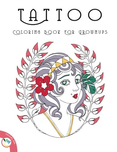 9781519596284: Tattoo Coloring Book for Grownups