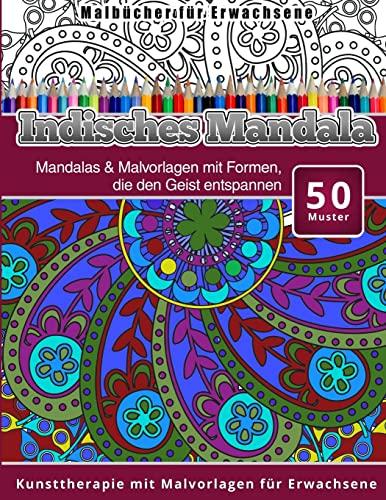 9781519604903: Malbucher fur Erwachsene Indisches Mandala: Volume 3