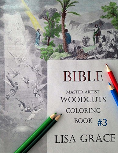 9781519615473: Bible Master Artist Woodcuts Coloring Book for Adults #3 (Volume 3)
