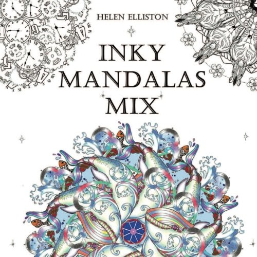 9781519622501: 4: Inky Mandalas Mix: Themed Mandalas for relaxation: Volume 4 (Inky Colouring Books)