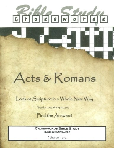 9781519636935: Crosswords Bible Study: Acts and Romans Leader Book