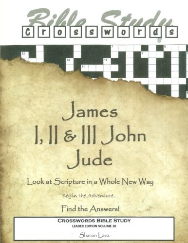 9781519638977: Crosswords Bible Study: James, I, II and III John and Jude Leader Book