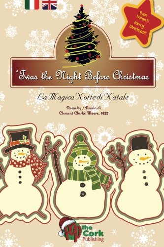 9781519654755: 'Twas the Night Before Christmas: La Magica Notte di Natale