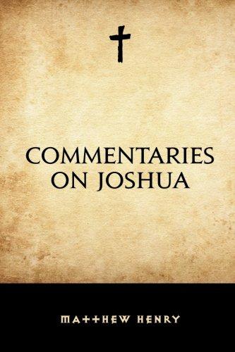 9781519666338: Commentaries on Joshua