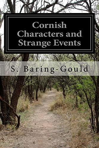 9781519673398: Cornish Characters and Strange Events