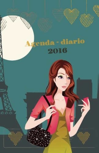 9781519676665: Agenda - Diario 2016 chick lit #2: interior en blanco y negro (Spanish Edition)
