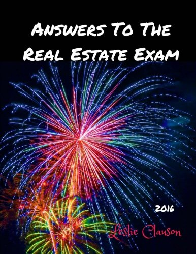 9781519676702: Answers to the Real Estate Exam: Real Estate Training Institute