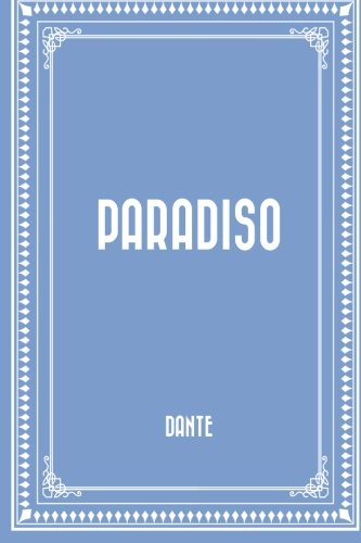 9781519677525: Paradiso