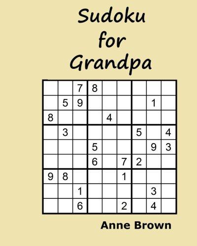 9781519687838: Sudoku for Grandpa: 200 Sudoku Puzzles