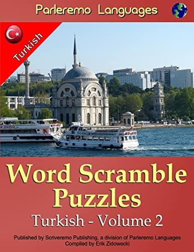 9781519693730: Parleremo Languages Word Scramble Puzzles Turkish - Volume 2