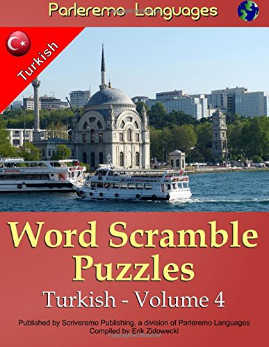 9781519694232: Parleremo Languages Word Scramble Puzzles Turkish - Volume 4