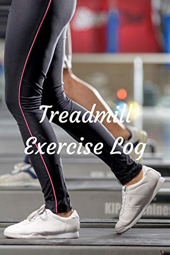 9781519695376: Treadmill Exercise Log