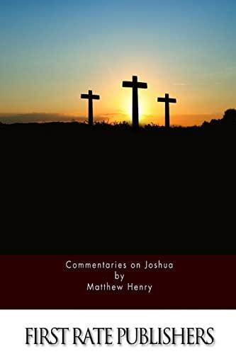 9781519708045: Commentaries on Joshua