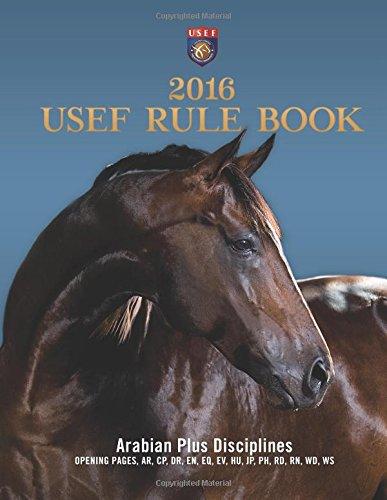 9781519713223: 2016 USEF Rulebook - Arabian Plus Disciplines